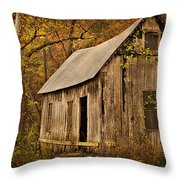 Lost Valley School Throw Pillow