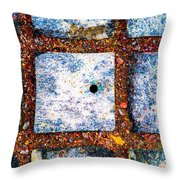 Lot Number 6 Of The Universe Throw Pillow