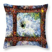 Lot Number 7 Of The Universe Throw Pillow