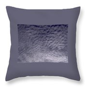 Lots Of Puffy Clouds Throw Pillow