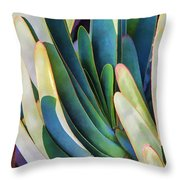 Lots Of Fingers Throw Pillow