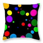 Lotsaspots Throw Pillow
