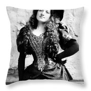 Lottie Collins Throw Pillow