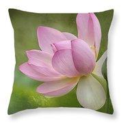 Lotus Dance Throw Pillow