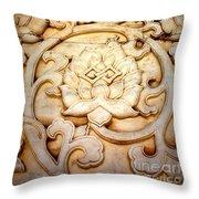 Lotus Legend Throw Pillow