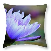 Lotus Love Throw Pillow