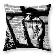 Lou 1980 Throw Pillow