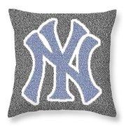Lou Gehrig Speech Mosaic Throw Pillow