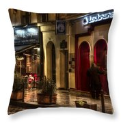 Loubnane Throw Pillow by Evie Carrier