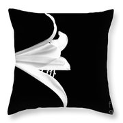 Loud Lily Throw Pillow