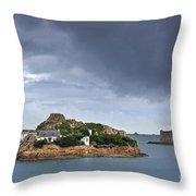 Louet Island 1 Throw Pillow
