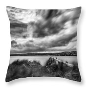 Lough Foyle View Throw Pillow