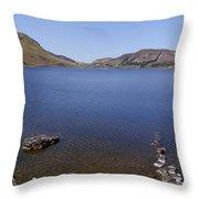 Lough Talt In County Sligo Ireland Throw Pillow