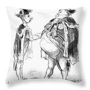 Louis-d�sir� V�ron Throw Pillow