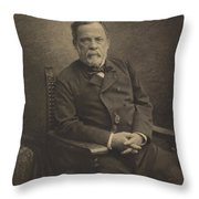 Louis Pasteur Throw Pillow