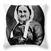 Louisa Whitman (d Throw Pillow