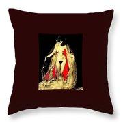 Louise Brooks Nude Circa 1928 Throw Pillow