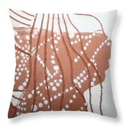 Louise - Tile Throw Pillow
