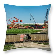 Louisiana Giants Throw Pillow