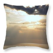 Louisiana Gold Throw Pillow
