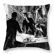 Louisiana Purchase, 1803 Throw Pillow