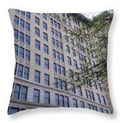 Louisville  Buildings 1 Throw Pillow