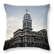 Louisville City Hall Throw Pillow