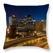 Louisville, Kentucky Throw Pillow