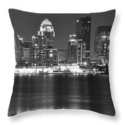 Louisville Kentucky Throw Pillow
