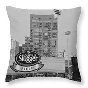 Louisville Slugger Field Throw Pillow