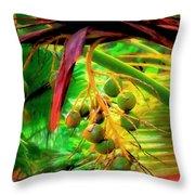 Loulu Palm Throw Pillow