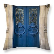 Louvre Doorway - Paris Throw Pillow