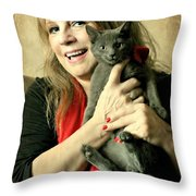 Love Abounds Throw Pillow