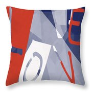 Love Abstract Throw Pillow