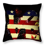 Love American Style Throw Pillow by Bill Cannon