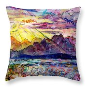 Love And Be Loved Throw Pillow by Shana Rowe Jackson