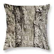 Love And Fate Throw Pillow