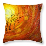 Love And Hope Throw Pillow