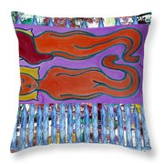 Love And Marriage Throw Pillow by Patrick J Murphy