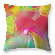 Love And Mayhem Throw Pillow