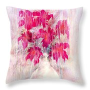 Love And Tears Throw Pillow