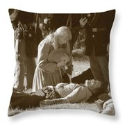Love And War Throw Pillow