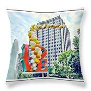 Love Balloons Throw Pillow