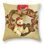 Love Be My Love Throw Pillow