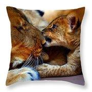Love Bite Throw Pillow