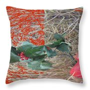 Love Bomb Throw Pillow by Feile Case
