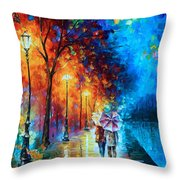 Love By The Lake Throw Pillow