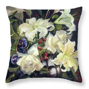 Love By The Moon 2 Throw Pillow