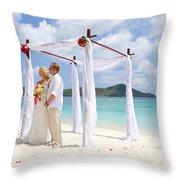 Love Ceremony Throw Pillow