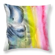 Love Colors - 4 Throw Pillow